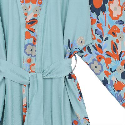 flower pointed robe blue2